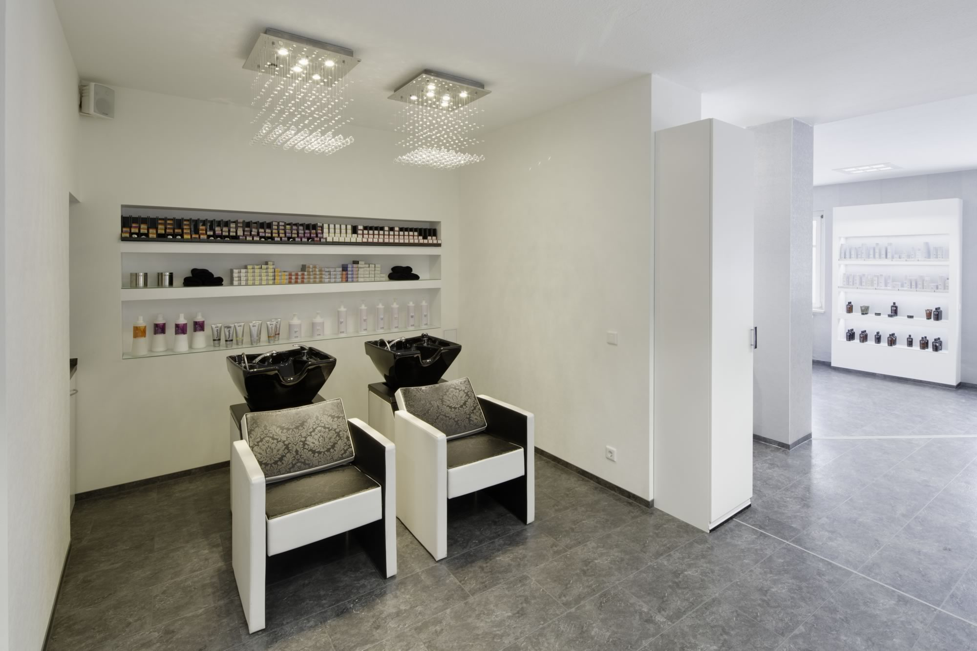 Innenarchitektur Friseursalon - Dr. Michael Flagmeyer Architekten